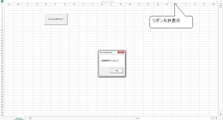 Application.DisplayFullScreen