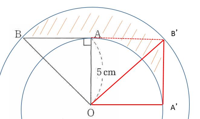 AB の軌跡