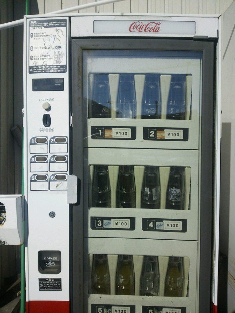 コカ・コーラ ビンの自販機