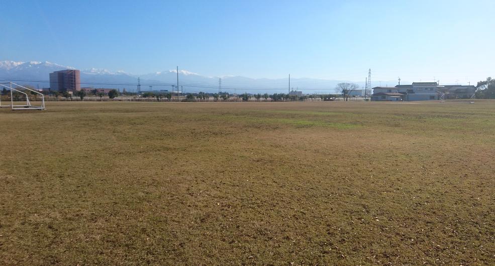 富山市東富山運動広場(芝生広場)